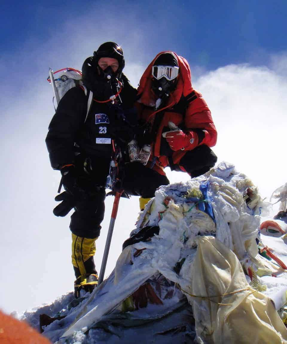 7 Summits Course Everest Summit