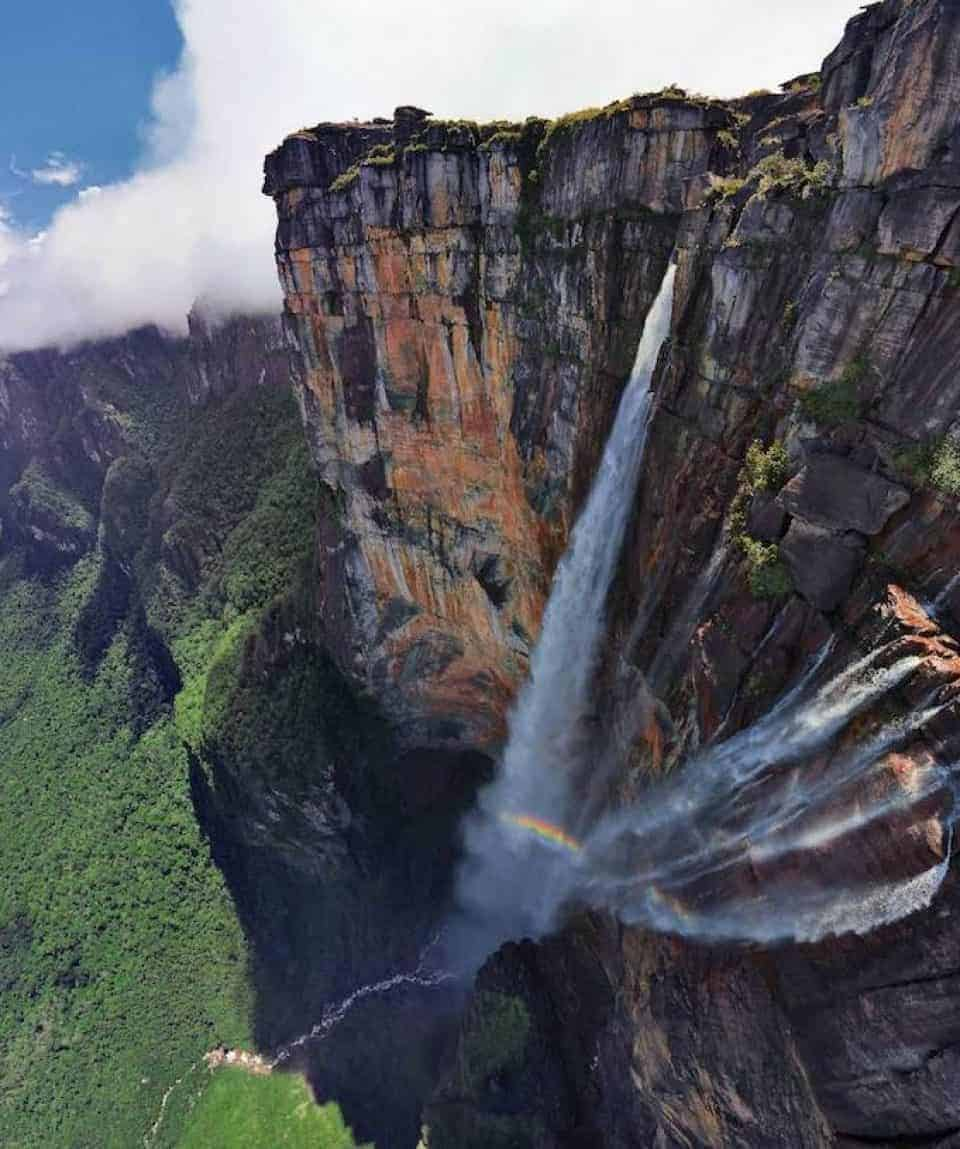 Angel Falls Wide