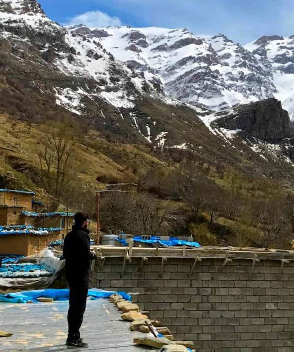 Contemplating The Mount Halgurd Region