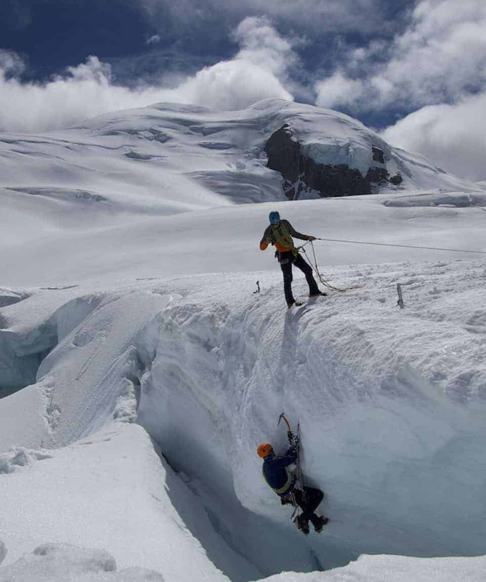 Crevasse Training for the Seven Summits