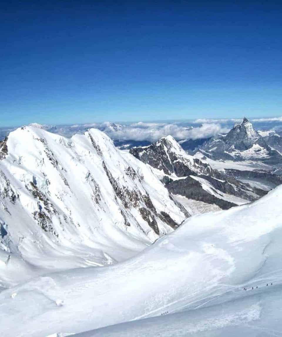 Matterhorn from Lyskam North Face