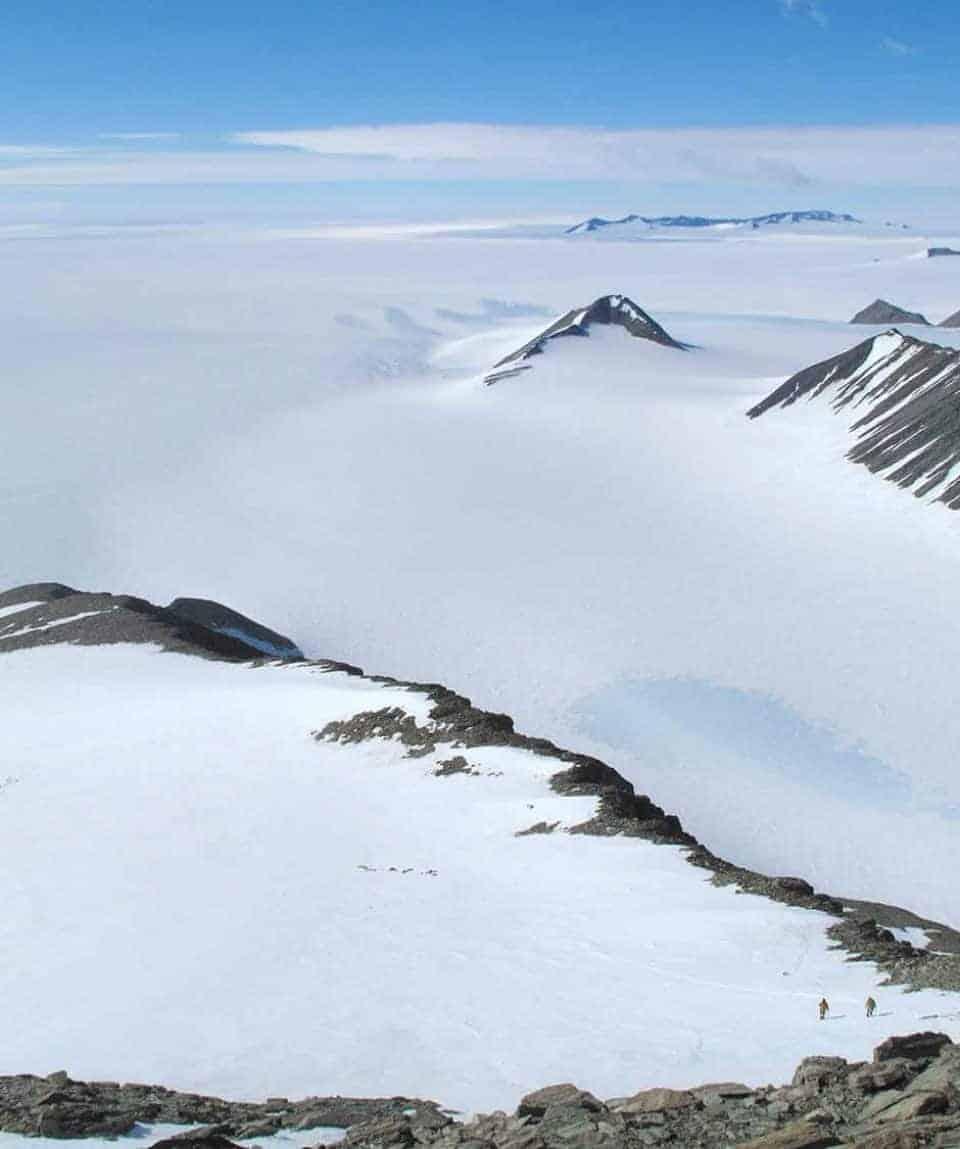 Climbing Antarctica