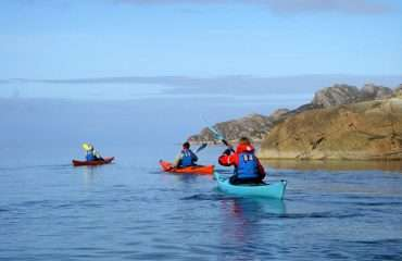 Paddling Toward Diabaig