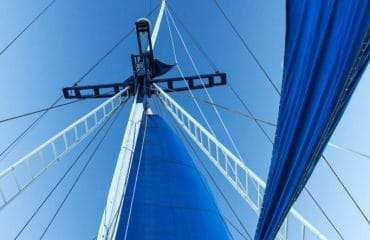 Sails Up, Blue Sky