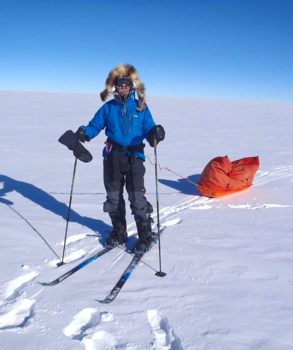 Ski to the South Pole