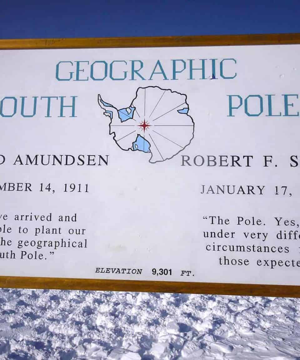 You Are At The South Pole