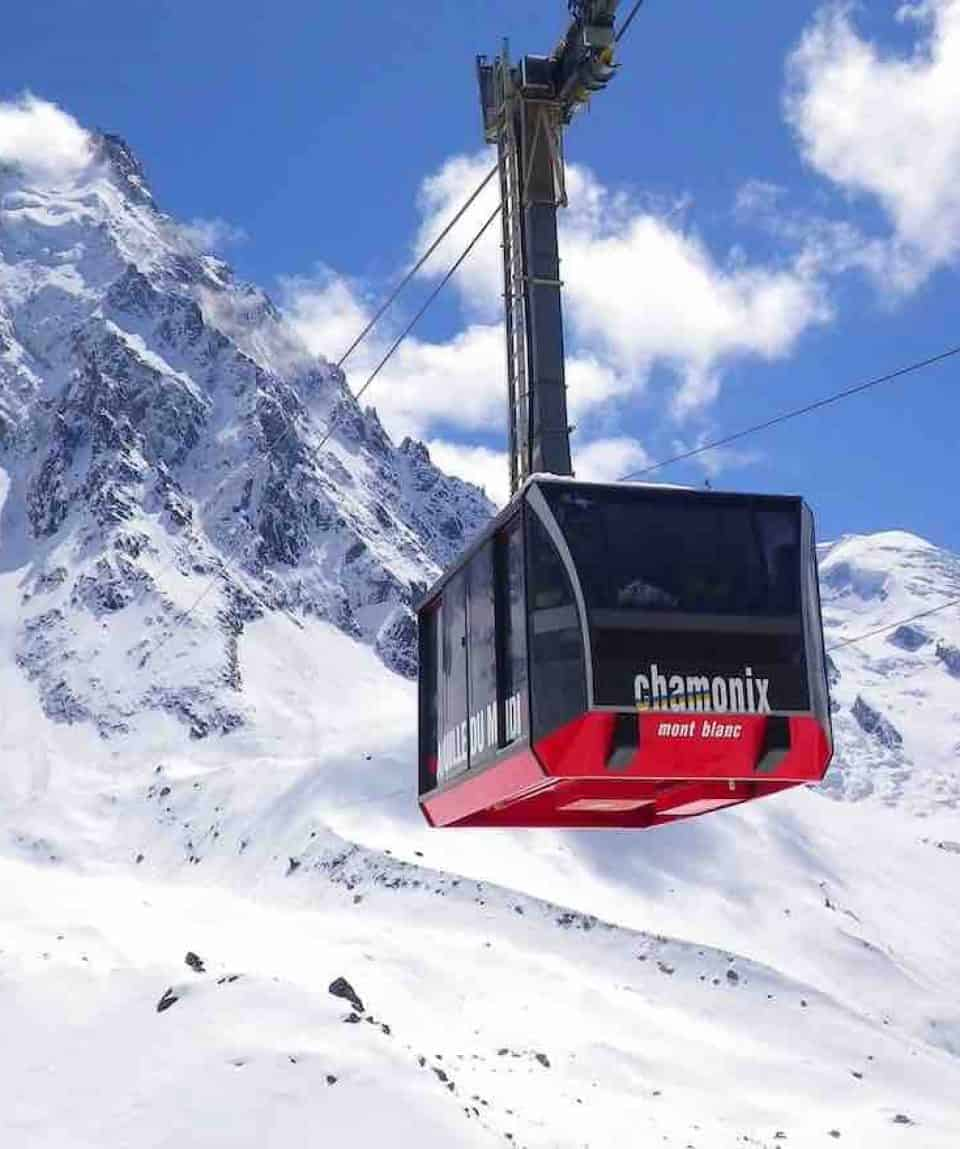Mont Blance Gondola