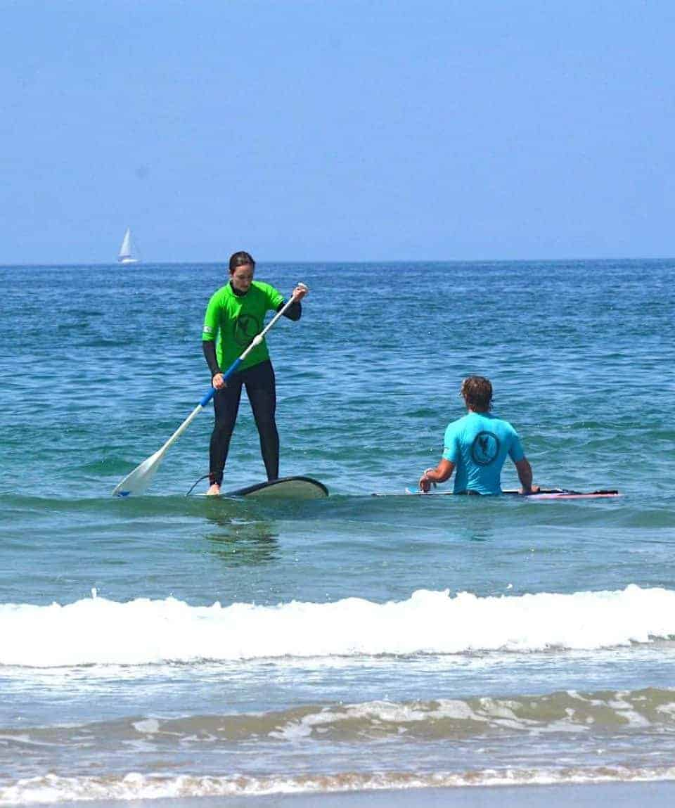 SUP Ocean Lesson