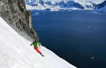 Snowboarding Antarctica