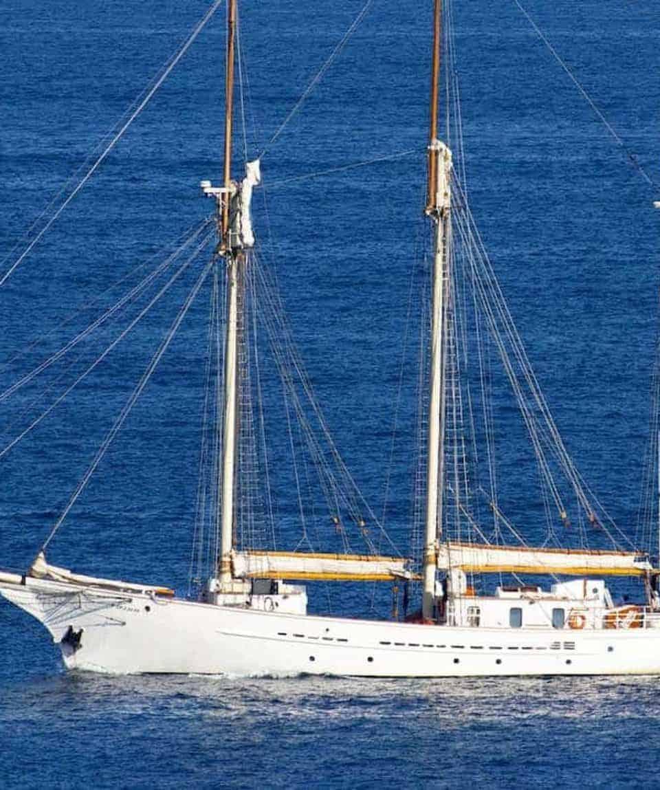 Blue Clipper At Sea