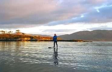 Paddling The Bay
