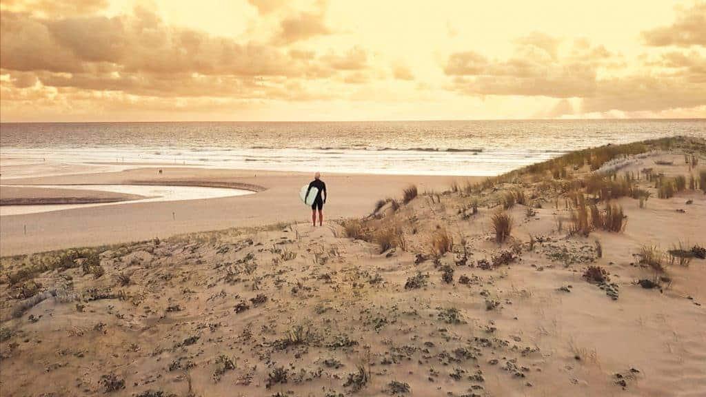 Moilets Surf Camp Sunset Surf