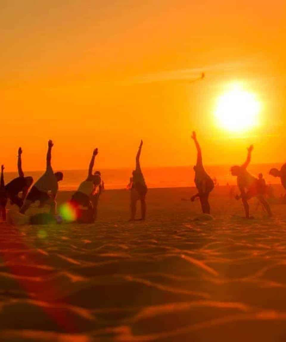 Moilets Surf Camp Sunset Yoga