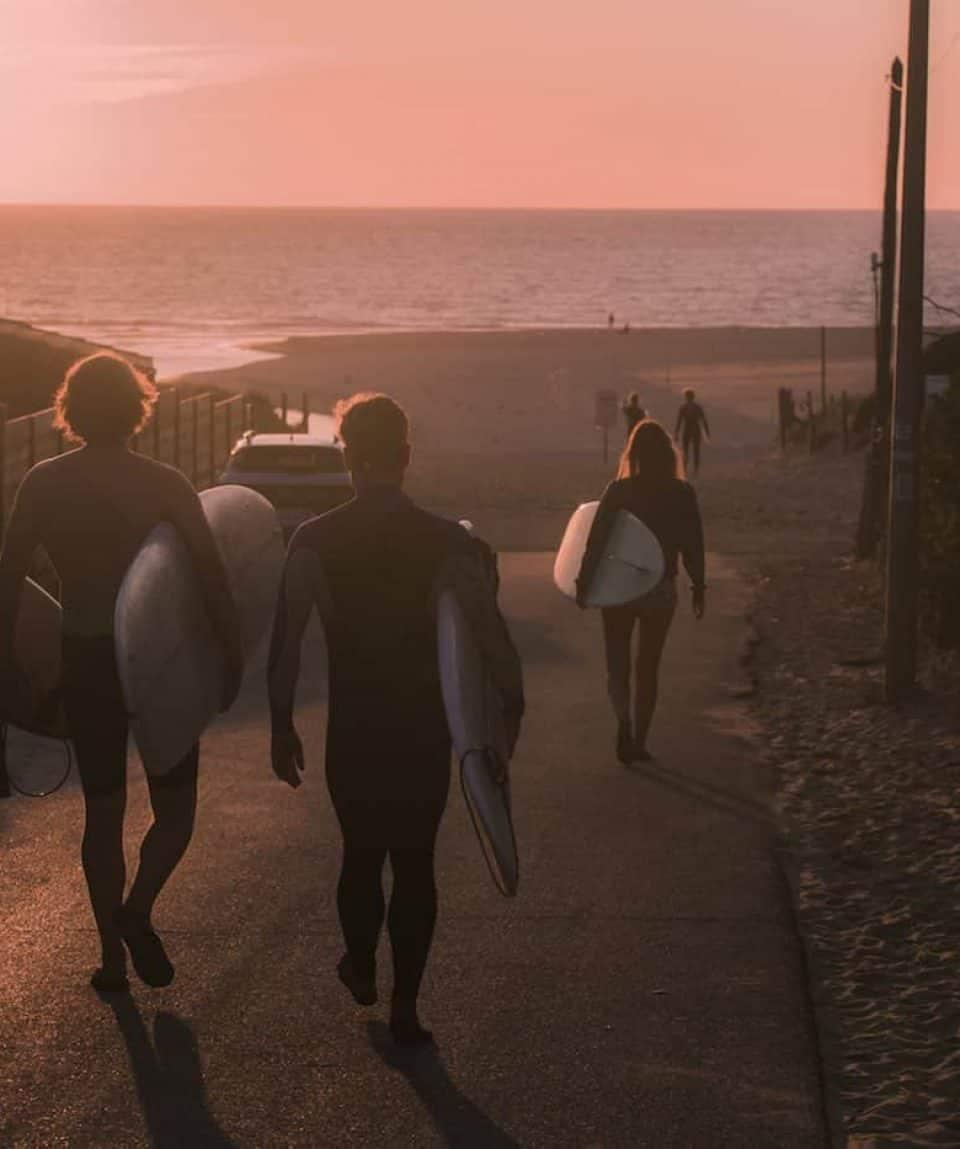 Surf Camp Sunset Session