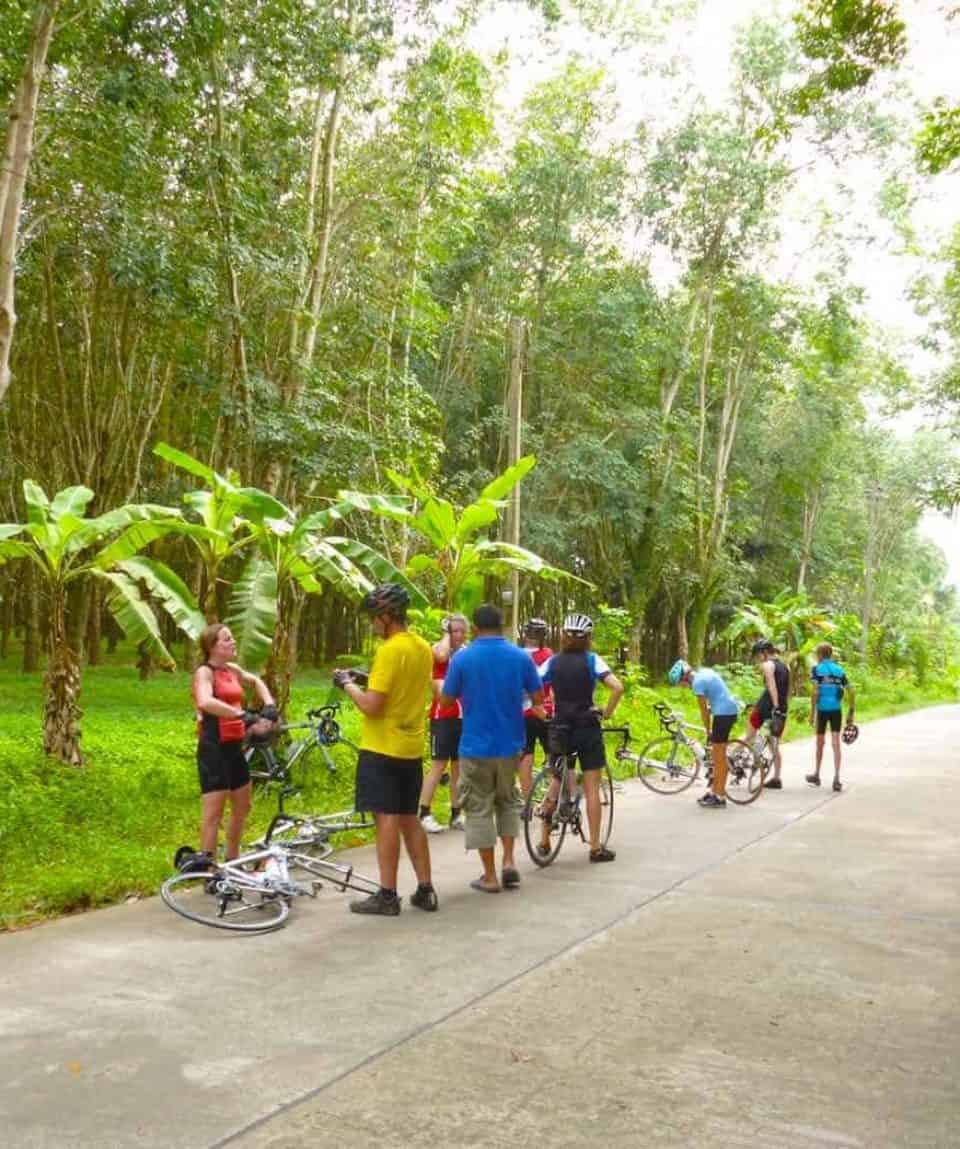 Cycling a Tropical Paradise