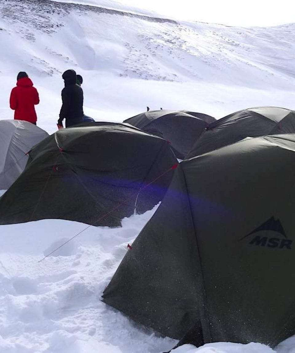 High Altitude Camp in Kurdistan