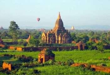 Bagan at Sunrise