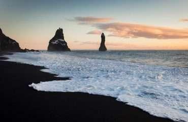 Iceland's Black Sand