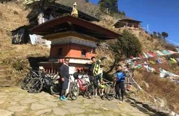 Riding Bhutan