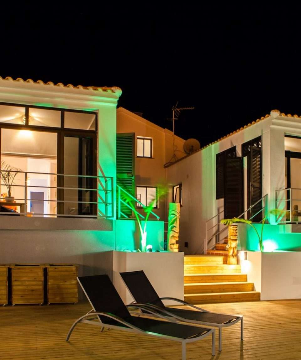 Surf House by Night